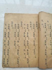 稀见地名手抄,资料珍贵。对研究古地名,古代名人出处。都有帮助。