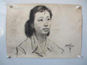 1979年作 女性 素描稿一幅  尺寸54*39厘米16    或为画家江平