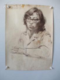 1979年作 女性 素描稿一幅  尺寸54*39厘米11    或为画家江平