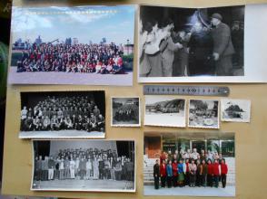 老照片【70年代—2001年,政治部文工团照片,9张】海岛慰问,演出合影,领导接见,等