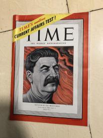 1941年时代杂志:斯大林封面/二战背景,日本法西斯/斯大林政策