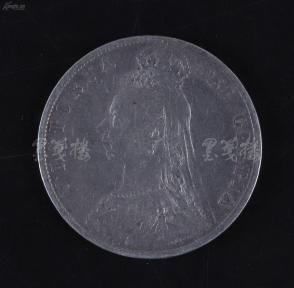 1892年 英国银币一枚(直径约3.2cm) HXTX107815