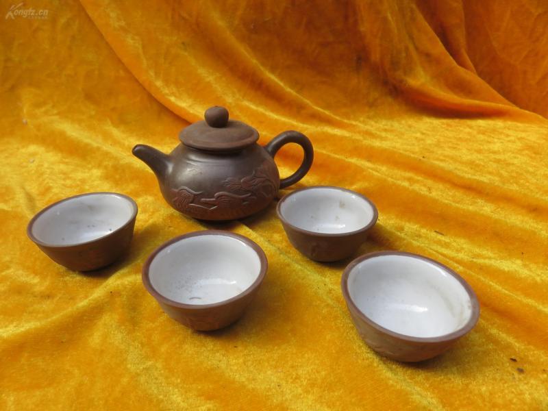 茶壶茶杯5个19032324