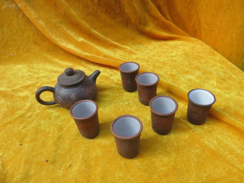 茶壶茶杯7个19032325
