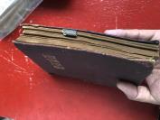 民国空白日记一册  品如图