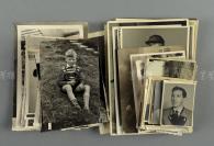 1942年-1963年 纳粹法国军官、女艺术家等照片七十余张(部分照片背后有说明) HXTX113045