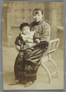 蒋氏家庭旧藏:民国老照片一张 HXTX113068