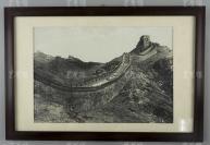 民國 長城黑白照片一大張 附框(尺寸:28.5*42cm)HXTX119833