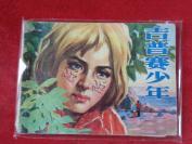 品好連環畫《吉普賽少年》1982年,1冊全,一版一印, 遼寧美術出版社,品自定如圖。