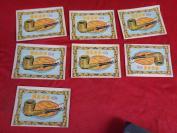 老商标《菊惠芬芳烟丝》民国,6张合拍,品好如图。