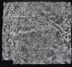 sy59清代整紙舊拓《王師雄題記》,此摩崖位于《西狹頌》西側  結字緊促,別體雜出,是崇拜臨寫《西狹頌》的佐證