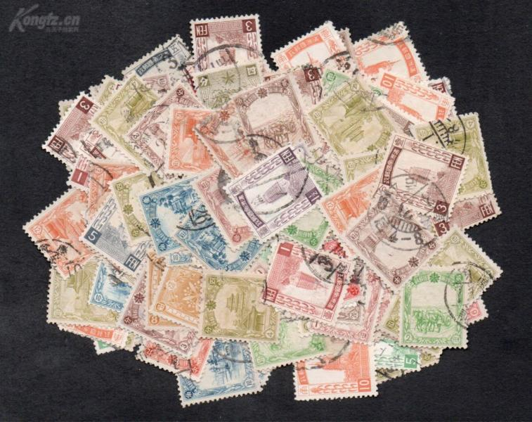 (462) 100 pieces of Manchuria letter of sale
