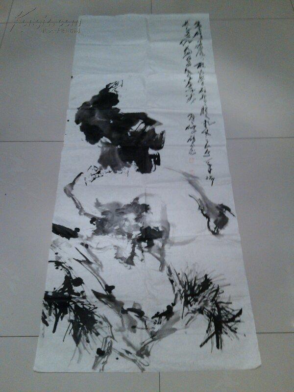 【图】名人字画:刘鸿谷国画鹰图片