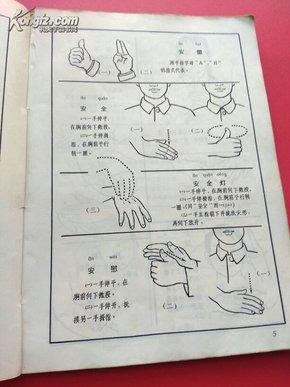 聋哑人通用手语图 第一辑