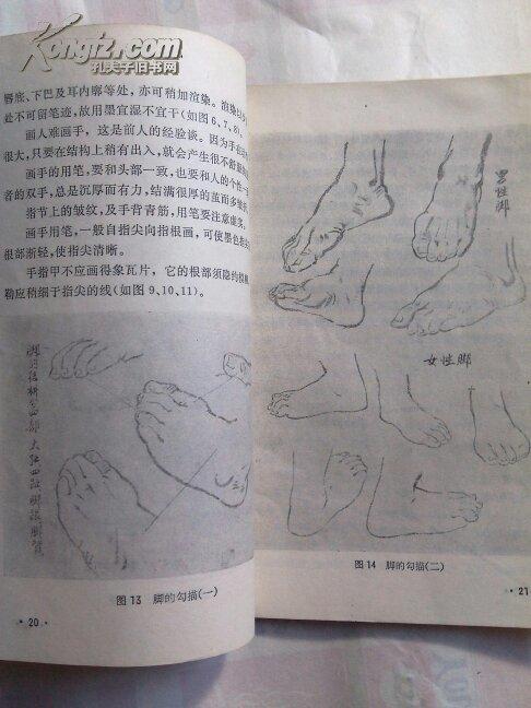 物画(工农兵美术技法图片