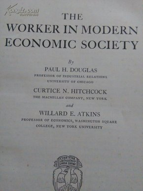 THE  WORKER   IN  MODERN   ECONOMIC  SOCIETY