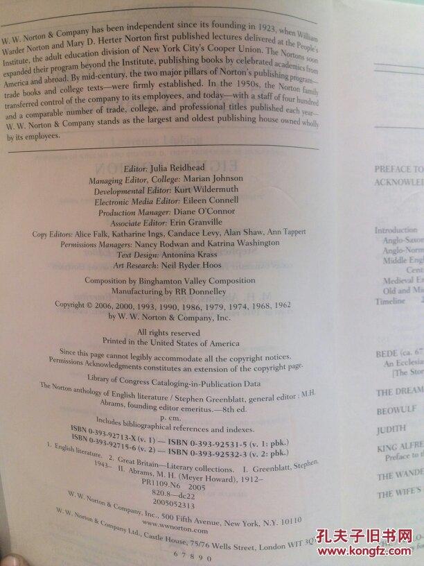 norton anthology of english literature volume 2 pdf
