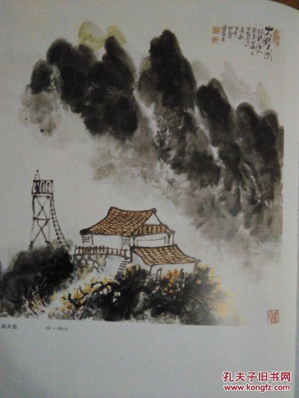 胡定元中国画集(8开精装画册)江西十老画家之一图片