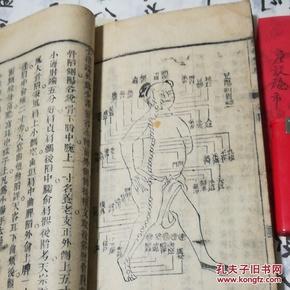 《医学集成》卷三至卷四,16开本,大厚册!