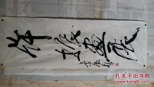 安徽阜阳著名老画家(赵景庵)三平尺……书法图片
