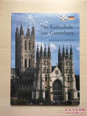 (德文原版)Die Kathedrale von Canterbury【坎特伯雷大教堂】(大16开,铜板彩印)