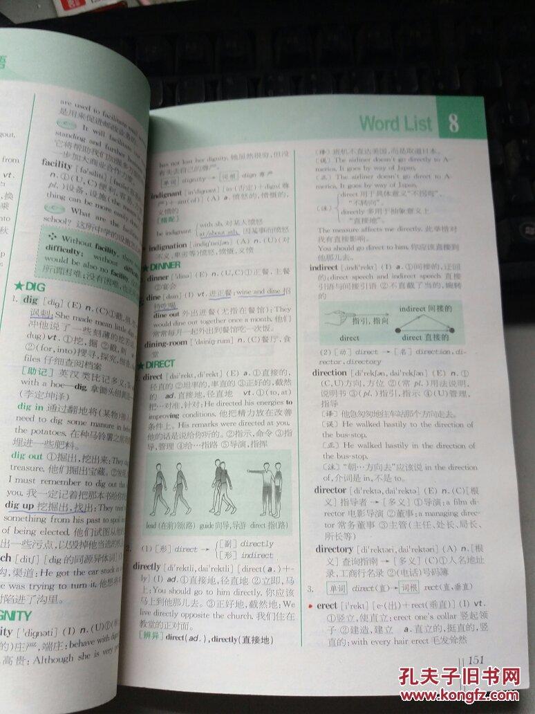 全新大学英语词汇 星火式 巧记.速记.精练 1~6级图片