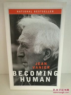 范尼云 Becoming Human by Jean Vanier (宗教)英文原版书