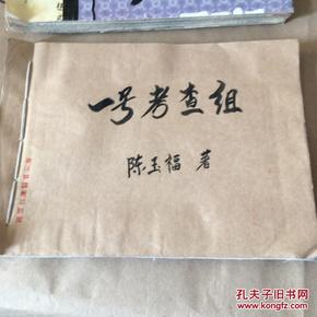 剪报连载《一号考察组》陈玉福著