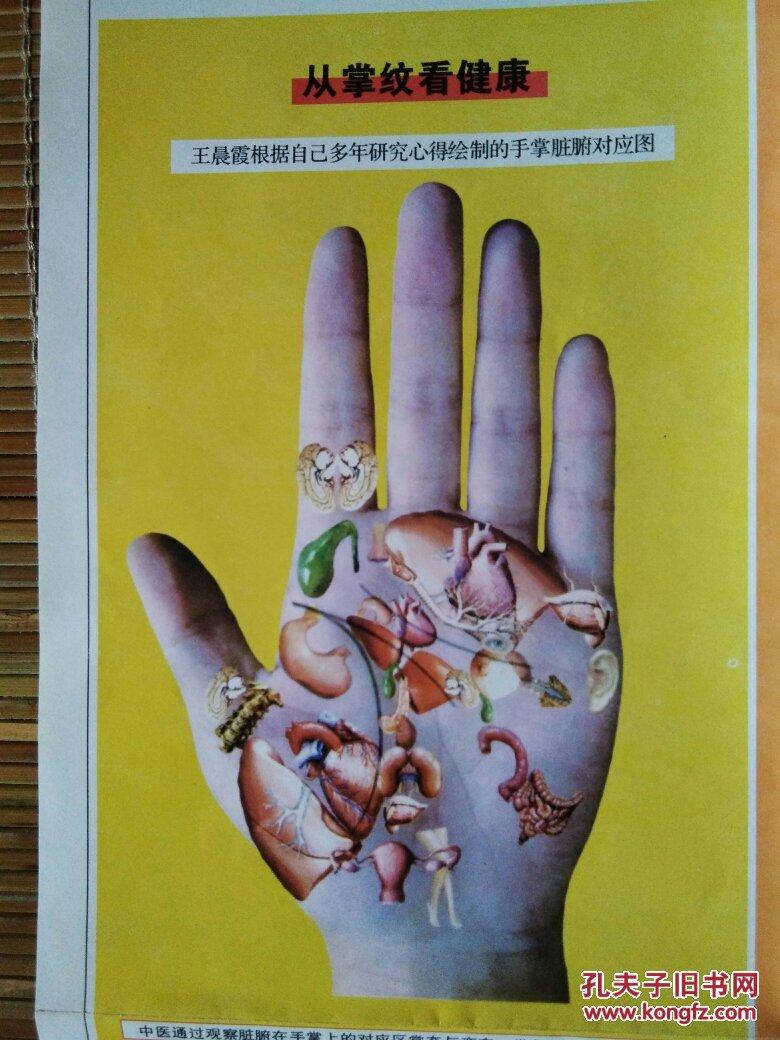 从掌纹看健康_《从掌纹,面纹,体貌看健康》(挂图)