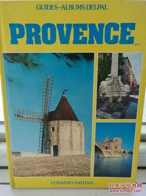 普罗旺斯 Provence Guides Albums Delpal 法文原版书 风景画册