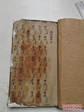 中医手抄本,膏丹丸散集,很厚一本,售复、印件。