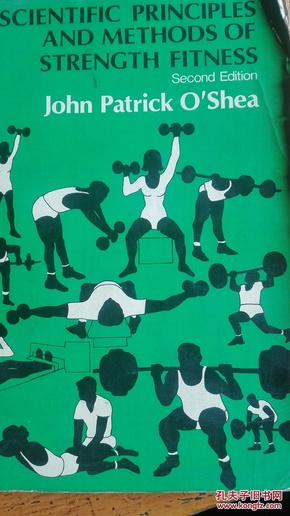 英文原版16k《scientific  principles and methods of steength fitness》举重训练技巧
