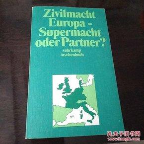 Zivilmacht Europa_Supermatch oder Partner? suhrkamp taschenbuch