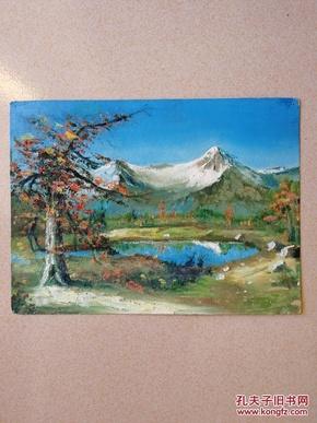 佚名油画风景