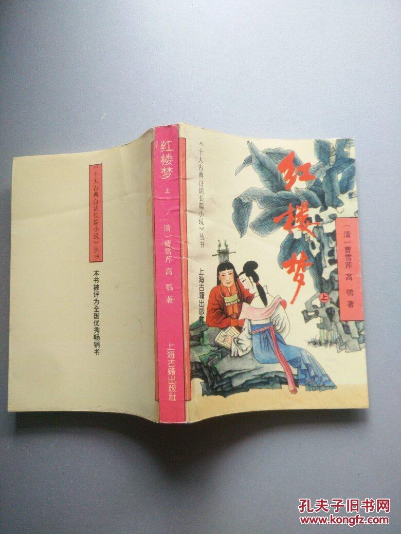 《十大古典白话长篇小说》丛书:红楼梦(上)