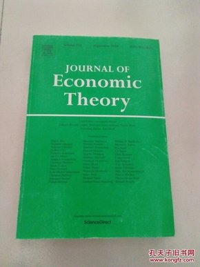 JOURNAL OF ECONOMIC THEORY(看图)