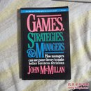GAMES STRATEGIES AND MANAGERS