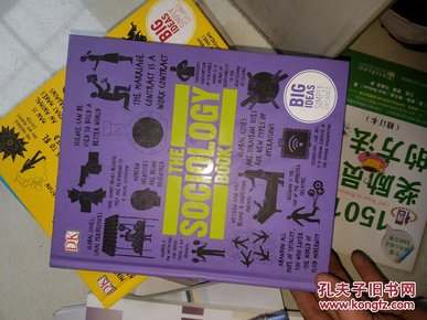 社会学书 英文原版The Sociology Book by DK  精装