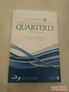 JOURNALISM&MASS COMMUNICATION QUARTERLY(看图)