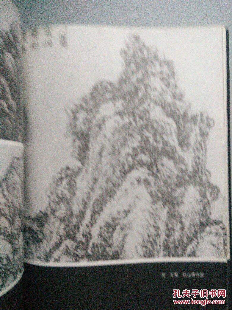中国画历代名家技法图谱.山水编.山石法(精装)图片