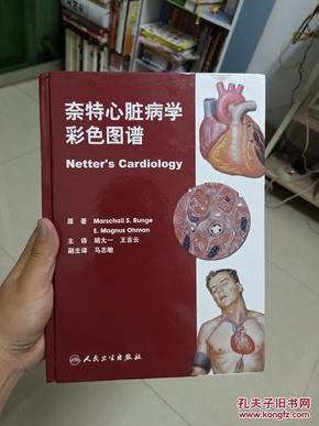奈特心脏病学彩色图谱(正版书籍,九五品,书页清爽干净)