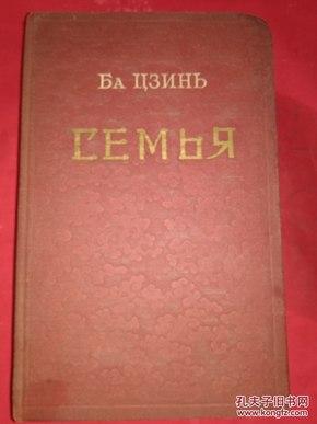 俄文原版 家 СЕМЬЯ