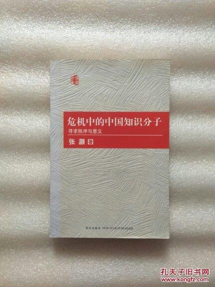 危机中的中国知识分子