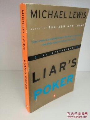 迈克尔·刘易斯 Michael Lewis:Liars Poker Rising Through the Wreckage on Wall Street (Penguin 版) 英文原版书