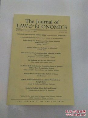 The journal of taw economics(看图)