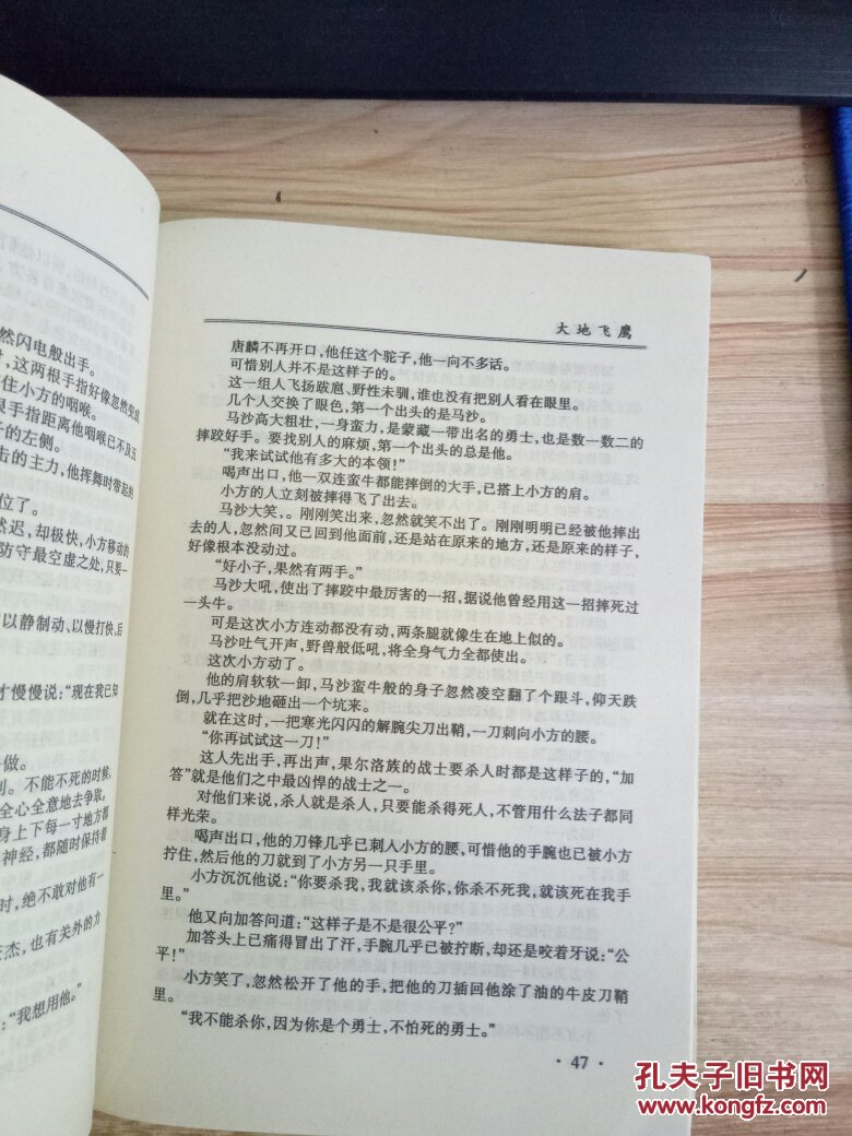 古龙作品集17大地飞鹰【珍藏本】