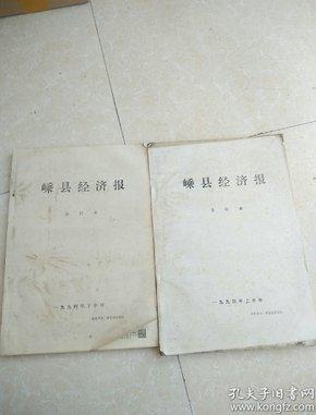 1994年《嵊县经济报》合订本