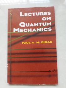 Lectures on Quantum Mechanics量子力学讲座