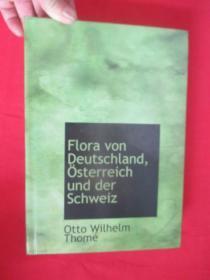 Flora Von Deutschland, Sterreich Und Der Schweiz      ( 16开,硬精装)     【详见图】