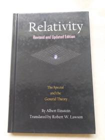 Relativity: The Special and the General Theory相对论